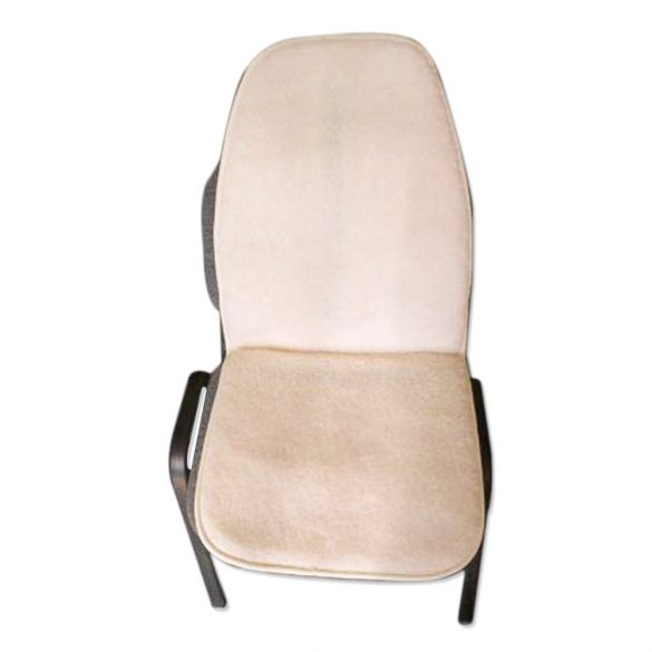 Sitzbezug aus Wolle
