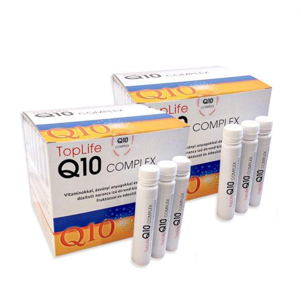 Q10 Koenzim Complex TopLife ampullás 2 doboz Akciós ár