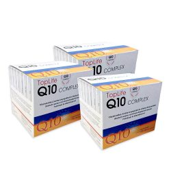 Q10 Koenzim Complex TopLife ampullás 3 doboz Akciós ár