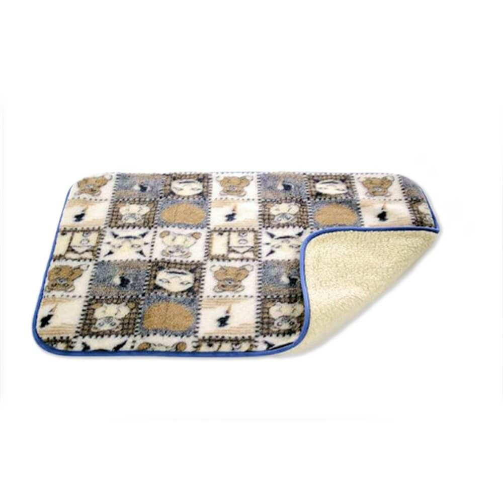 Sleepy-Gyermek gyapjú DERÉKALJ Macis-kék - Sleepy matrac Gyapjú takarók c6733a3b8b