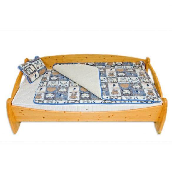 Sleepy-Gyermek gyapjú DERÉKALJ Macis-kék