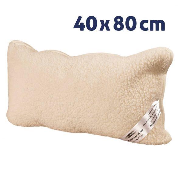 Sleepy - Natur Gyapjú PÁRNA gerinckímélő 40x80cm