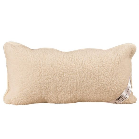 Sleepy - Natur Wolle KISSEN Wirbelsäule Schutz 40x80cm