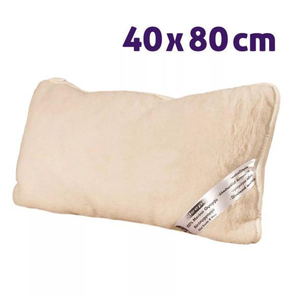 Sleepy - ovčia vlna vankúš šetrný k chrbtici 40x80cm