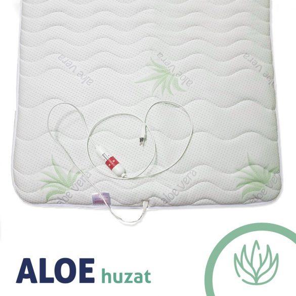 Infra lepedő-derékalj extra Aloe Vera huzattal 80x190cm