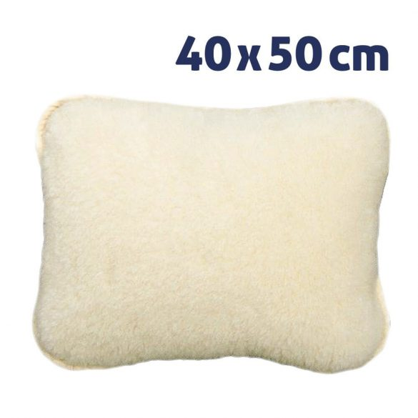 Sleepy - Small size Wool Pillow - 100% Merino Wool, Lambswool or Cashmere, 40 x 50 cm