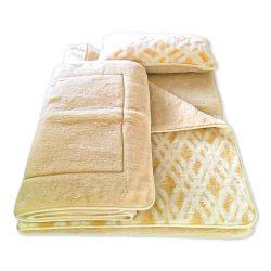 Sleepy - Luxury Grid Pattern Wool Bedding set 600gsm