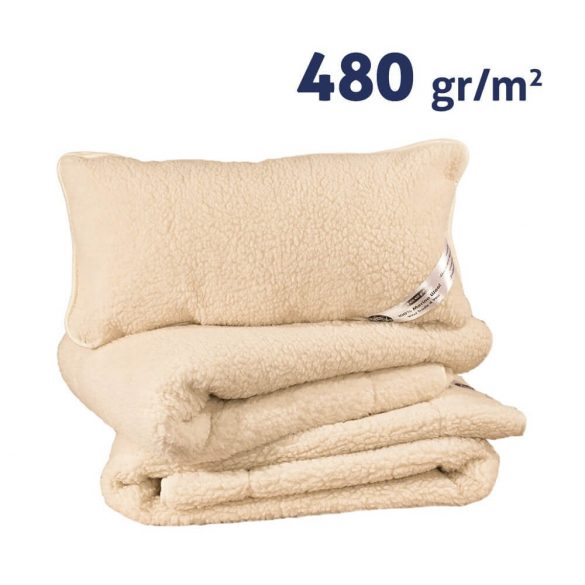 Sleepy-NATUR Wolle SET 480gr / m2