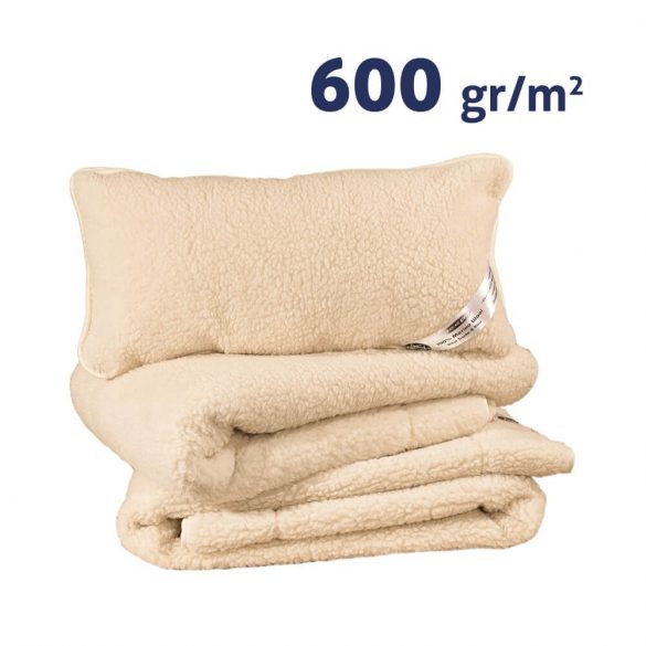 Sleepy-NATUR Gyapjú GARNITÚRA 600gr/m2
