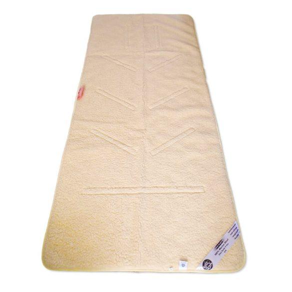 Sleepy-MAGNETIC Schlafmatte mit  Wolle gesteppt 520gr / m2
