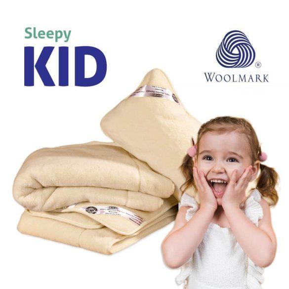 Detská kašmírová sada Sleepy-KIDS 100% vlna 650gr / m2