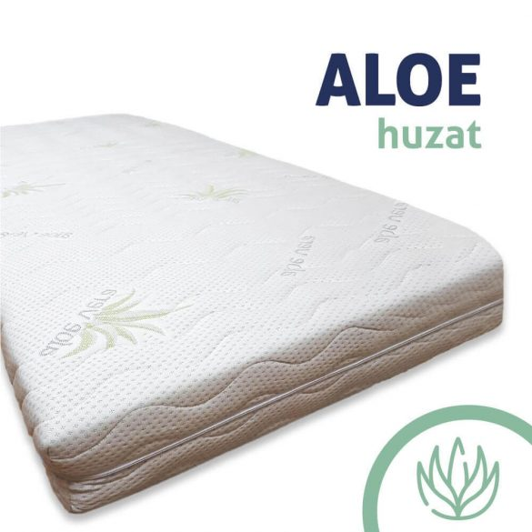 Ortho-SleePy Luxury Plus MEMORY MATTRESS - with Luxury Aloe Vera cover - 22 cm