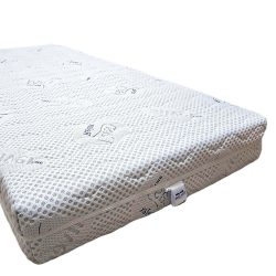 GOLD-PROTECT Ortho-SleePy Luxury MEMORY MATTRESS - with Luxury Silver Protect cover