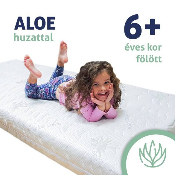 Sleepy-Kind-Kinder hypoallergen Matratze in Aloe Vera Abdeckung 14cm