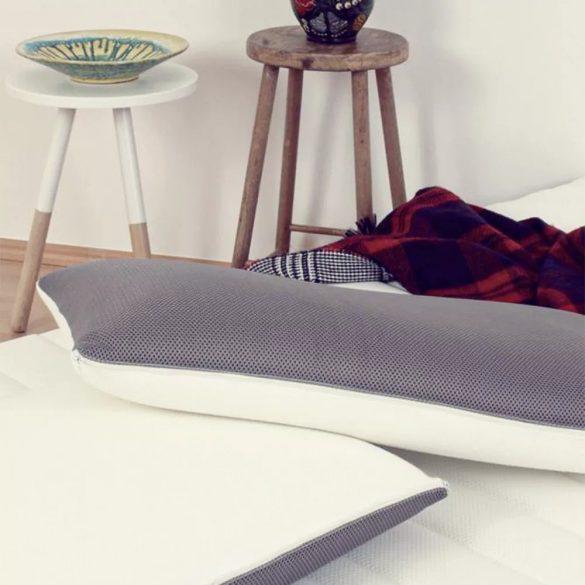 Sleepy 3D-Memory-Kissen - Grau