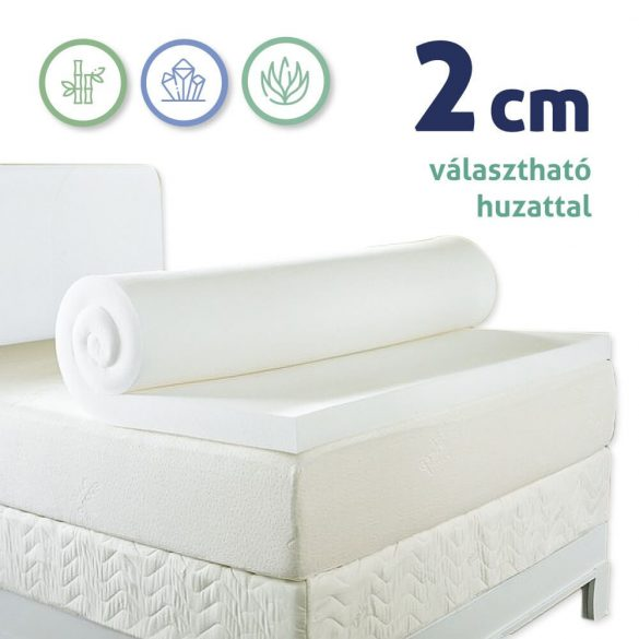 Sleepy Memory Foam Mattress topper 2cm