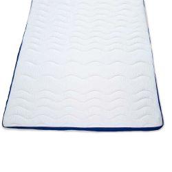 Auflagematratze-Topper Blue-White