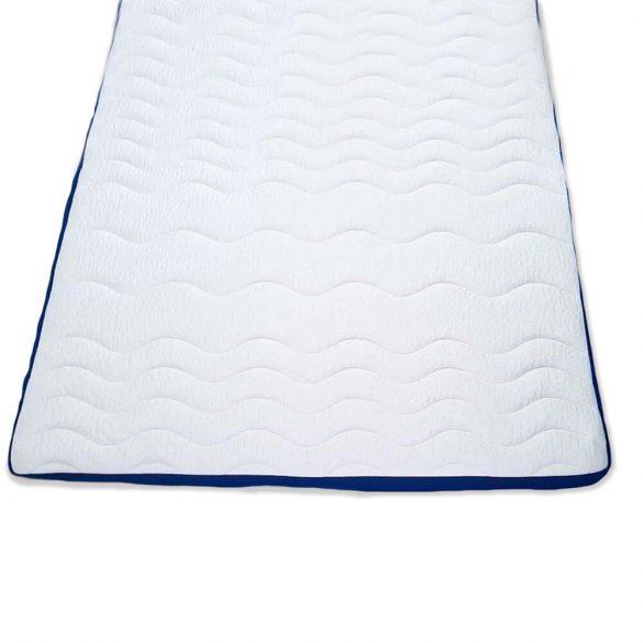 Fedőmatrac - Topper Blue-White