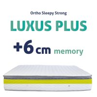 Sleepy-StronG Luxus Plussz Matracok +6CM MEMORY