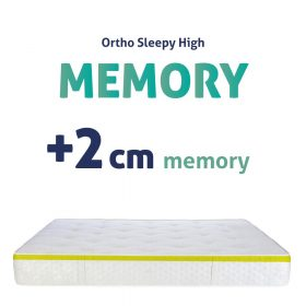 Sleepy-High Memory Matracok+2cm Memory