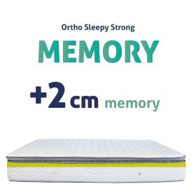 Sleepy STRONG Memory Matrac + 2cm MEMORY