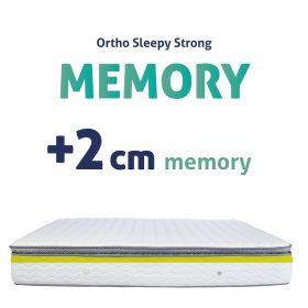 STRONG MEMORY MATRAC - 2CM MEMORY RÉTEGGEL