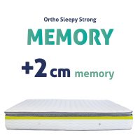 Sleepy-StronG Matracok +2CM MEMORY