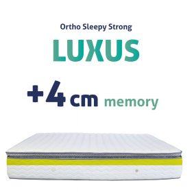 Sleepy-StronG Luxusmatratzen + 4CM MEMORY