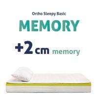 Memory Ortopéd Matracok +2CM MEMORY
