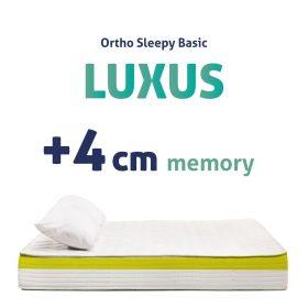 LUXUS MEMORY MATRACOK - 4CM MEMORY RÉTEGGEL