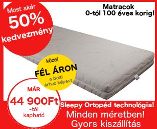 Akciós Sleepy ortopéd matracok